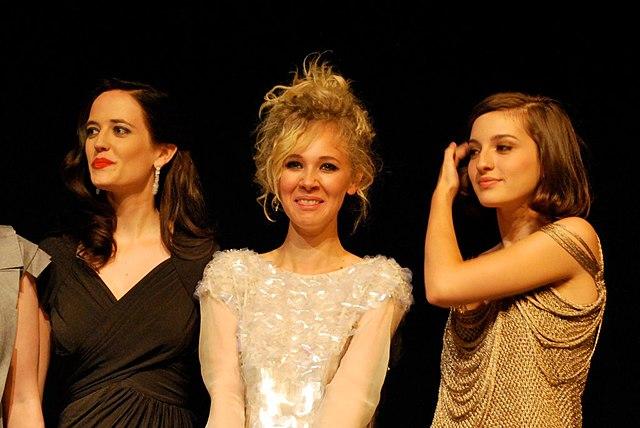 Ева Грин, Джуно Темпл и Мария Вальверде на Международном кинофестивале в Торонто в 2009 году