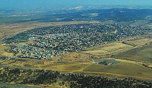 Lehavim - Image: Lehavim Aerial View