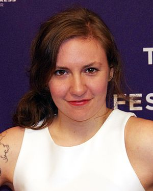 Lena Dunham - Dunham at the 2012 Tribeca Film Festival premiere of Supporting Characters
