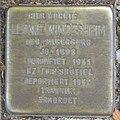 Leonie Windesheim - Sierichstraße 127 (Hamburg-Winterhude).Stolperstein.crop.ajb.jpg