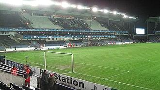 Lerkendal Stadion - The EiendomsMegler1 Stand was built in 2002