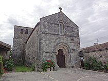 Les églises d'Argenteuil (Charente-Maritime) église, extérieur.JPG