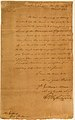 Letter from George Washington to New York Governor George Clinton MET LC-35 52-002.jpg