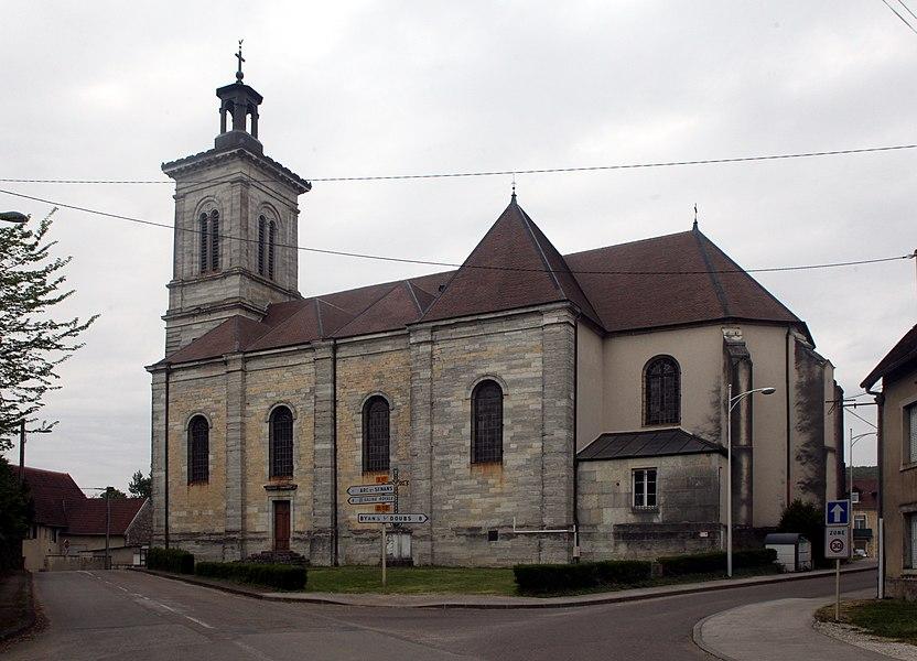 Église de Liesle (Doubs).