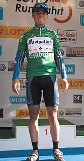 Darren Lill South African cyclist
