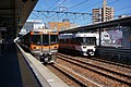 Limited Express Shinano and Rapid Service at Tajimi Station.jpg