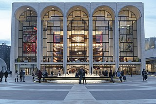 Metropolitan Opera House (Lincoln Center) opera house located in Manhattan in New York City