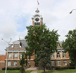 Lincoln County, Wisconsin - Image: Lincoln County Wisconsin Courthouse