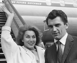 Linda Christian and Edmund Purdom 1962.jpg