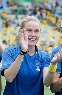 Lisa Dahlkvist Swedish female association football player