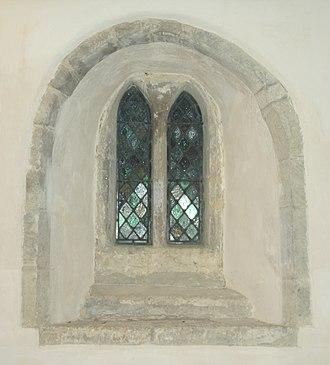Little Faringdon - Image: Little Faringdon St Margaret Paired Lancet