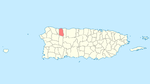 Locator map Puerto Rico Camuy.png