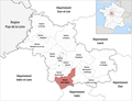 Locator map of Kanton Saint-Aignan 2019.png