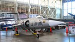 Lockheed F-104A Starfighter (30043549084).jpg