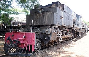 Nairobi Railway Museum - KUR 87 ''Karamoja'' at the Museum
