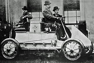 Hybrid electric vehicle - The Lohner-Porsche Mixte Hybrid was the first gasoline-electric hybrid automobile.