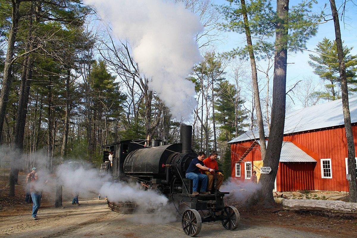 Lombard Steam Log Hauler Wikipedia