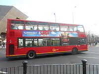 London Bus with Lego Movie advert.JPG