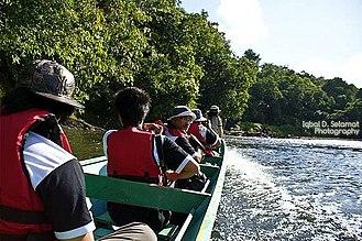 Ulu Temburong National Park - Image: Long way to go..