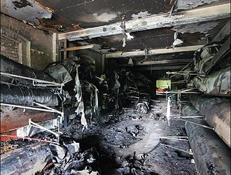 Animal rights movement - A fire, claimed by the Oxford Arson Squad, caused £500,000 damage to Londbridges boathouse, Oxfordshire on July 4, 2005.