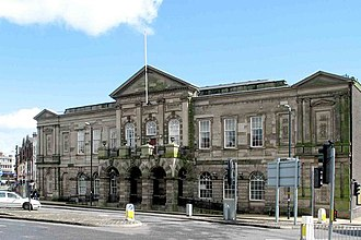 Stoke-on-Trent - Longton Town Hall.
