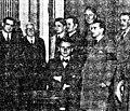 Lorca, Roberto González Pastoriza, Manuel Gómez Román, Eugenio Arbones Castellanzuelo y Eugenio Fadrique González, 1932.jpg