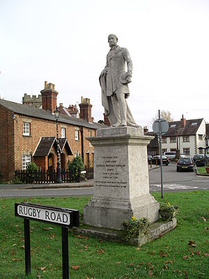Dunchurch - Statue of Lord John Douglas Montagu Douglas Scott