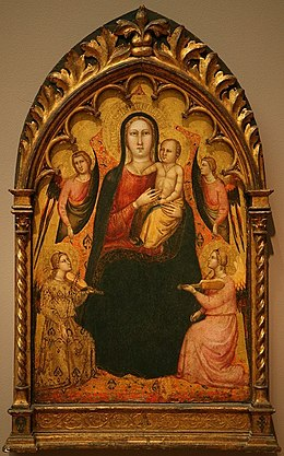 Lorenzo di Bicci - Madonna and Child with Angels.jpg