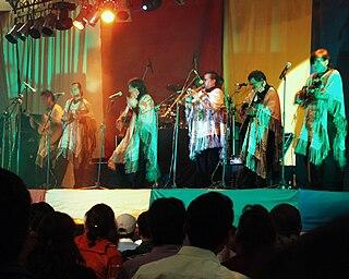 Los Kjarkas band