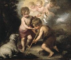 Bartolomé Esteban Murillo: The Holy Children with a Shell