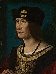 Luis XII por Jean Perréal.