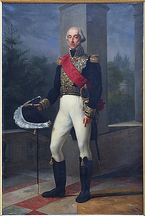 Louis Henri, Prince of Condé - Portrait by Pierre Louis Delaval, Musée Condé of Chantilly, France