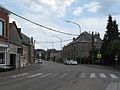 Louveigne, straatzicht foto2 2010-07-10 14.44.JPG