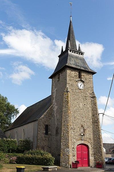 Church of Louvigné.