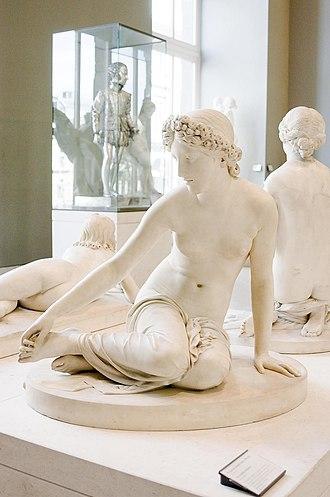 Salmacis - La nymphe Salmacis by François-Joseph Bosio, 1826 (Louvre)