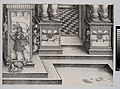 Lower Portion of the Entryway to the Right Portal (Die Porten des Adels); and the Outer Right Sockel of the Central Portal, from The Triumphal Arch of Maximilian I, 1st edition (1517-18) MET DP-16116-023.jpg