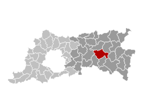 Lubbeek - Image: Lubbeek Locatie