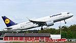 Lufthansa Airbus A320neo (D-AIND) at Frankfurt Airport.jpg