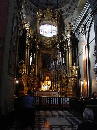 Cathedral Basilica of the Assumption, Lviv - The interior