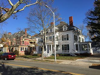 Lynn, Massachusetts - Nahant Street in Diamond Historic District