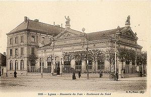 Les Brotteaux - The former Brasserie du Parc