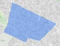 Lyon 8e - Quartier de Monplaisir en bleu, sur fond OpenStreetMap-uMap.png