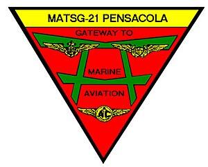 Marine Aviation Training Support Group 21 - MATSG-21 insignia