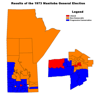Manitoba general election, 1973 - Image: MB1973