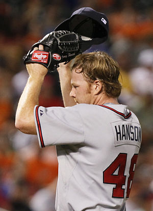 Tommy Hanson - Hanson with the Atlanta Braves in 2009