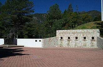 San Pablo Guelatao - Image: MONUMENTO A BENITO JUAREZ EN GUELATAO