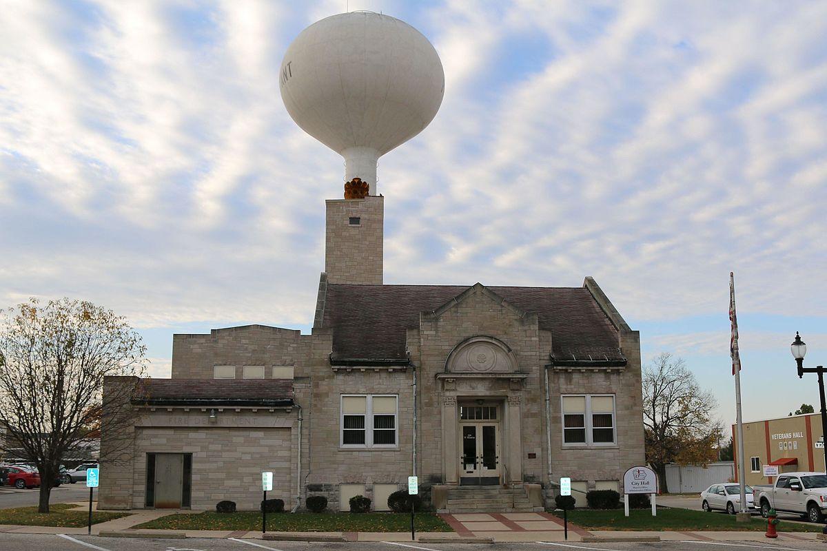 Mount Pleasant City Hall Iowa Wikipedia