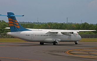 Merpati Nusantara Airlines - As of 2011, Merpati no longer operates the ATR 72-212 since the arrival of the MA60.