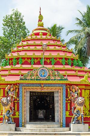 Jatani - Damanei Temple, Jatani
