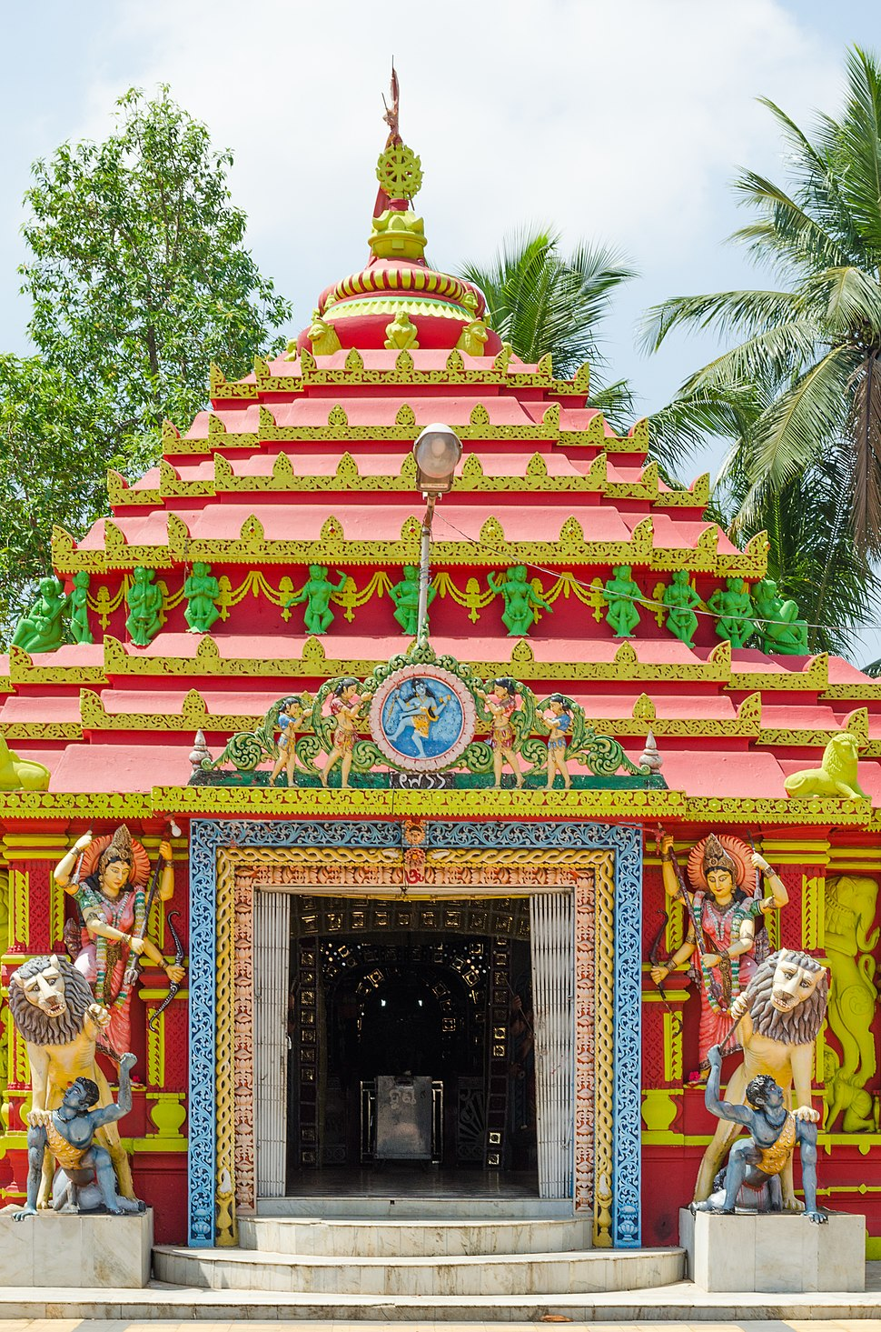 Maa Damanei Temple